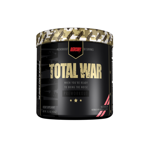 Redcon1 Total War Pre Workout Review: Is It A Strong PWO?