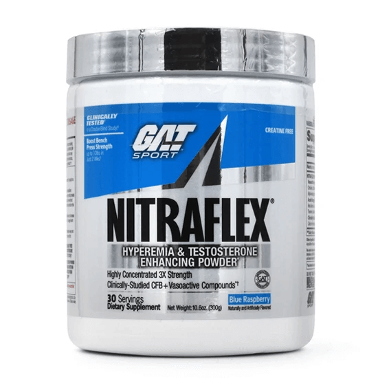 GAT Nitraflex Review: Is This A Solid Pre-Workout?