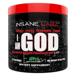 Insane Labs I Am God Pre Workout Review