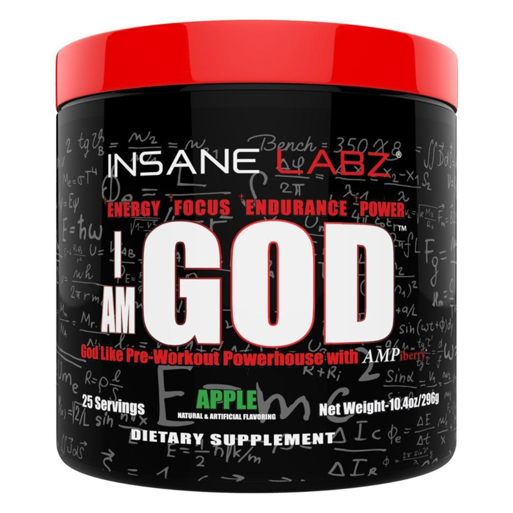 Insane Labz I Am God Pre Workout Review: Worth The Money?