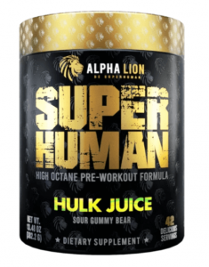 Alpha lion superhuman hulk juice review