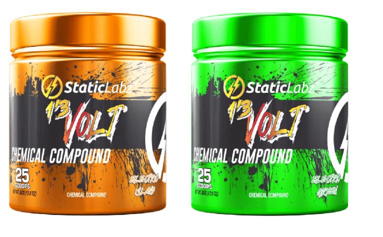 Static Labz 13 Volt Pre Workout