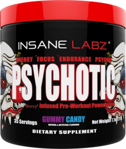 Best DMAA Pre Workout Alternative - Psychotic