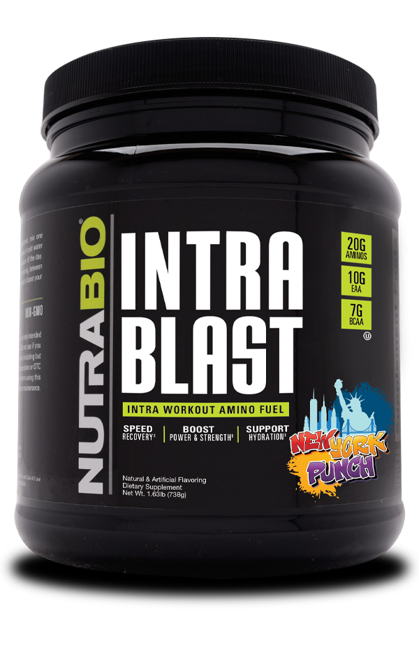 NutraBio Intra Blast Review: 20 Grams Amino Acids Added