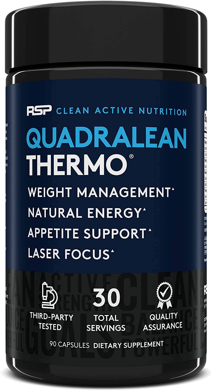 RSP Quadralean Review: Can This Thermogenic Increase Fat Loss?