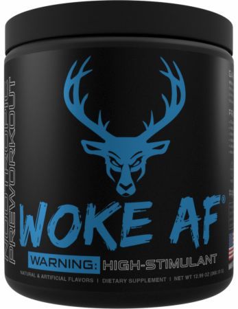 Woke AF High Stimulant Pre Workout Review