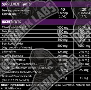 Dark Labs Crack Ingredients