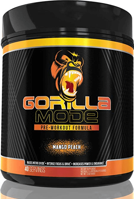 Gorilla Mode Pre-Workout Review: We Test 1 & 2 BIG Scoops!