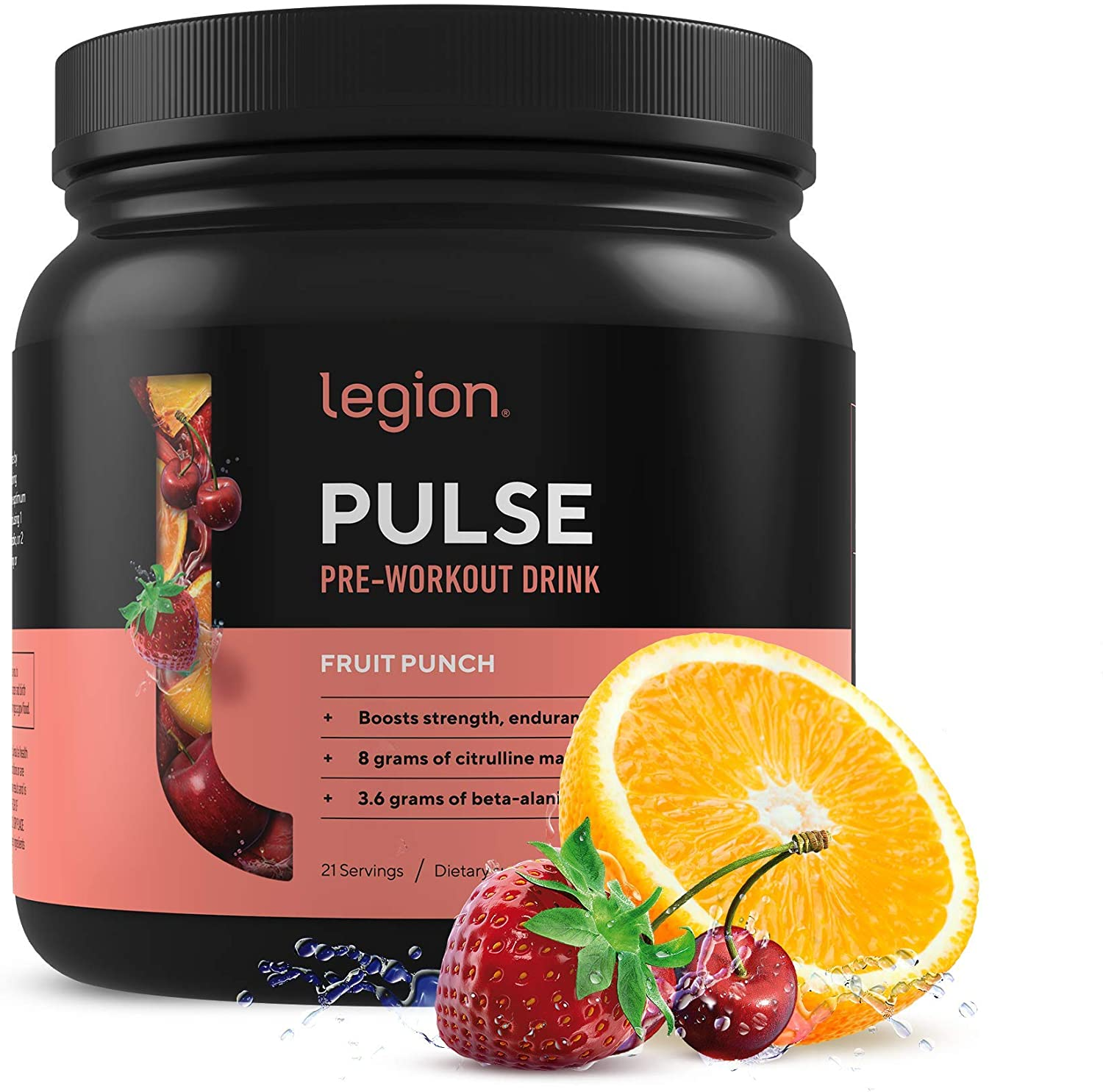 Legion Pulse Pre-Workout Review: 100% Natural Formula?