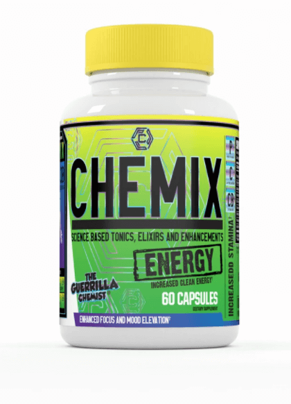 Chemix Releases New & Exciting Chemix Energy Formula