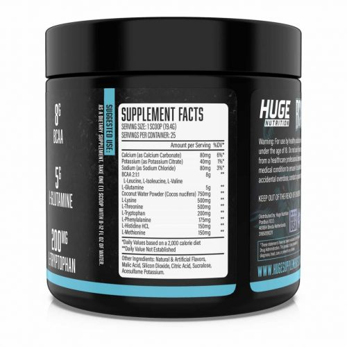 Huge-Nutrition-BCAA ingredients