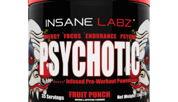 Psychotic Pre Workout Review: Powerful Or Weak?