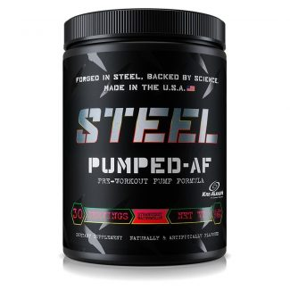 STEEL Pumped AF Review: Will It Give You Crazy Muscle Pumps?